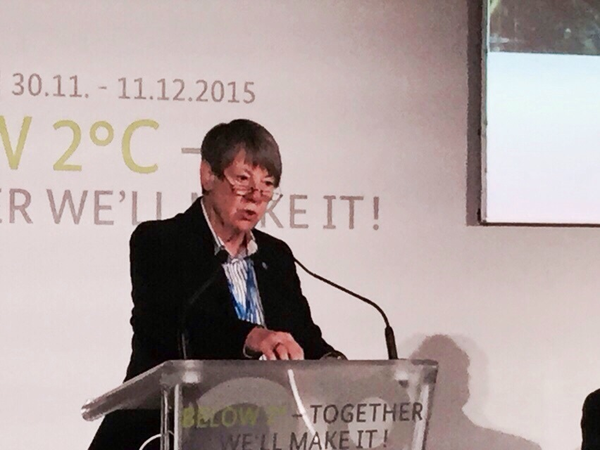 Germany's Minister of Environment Barbara Hendricks