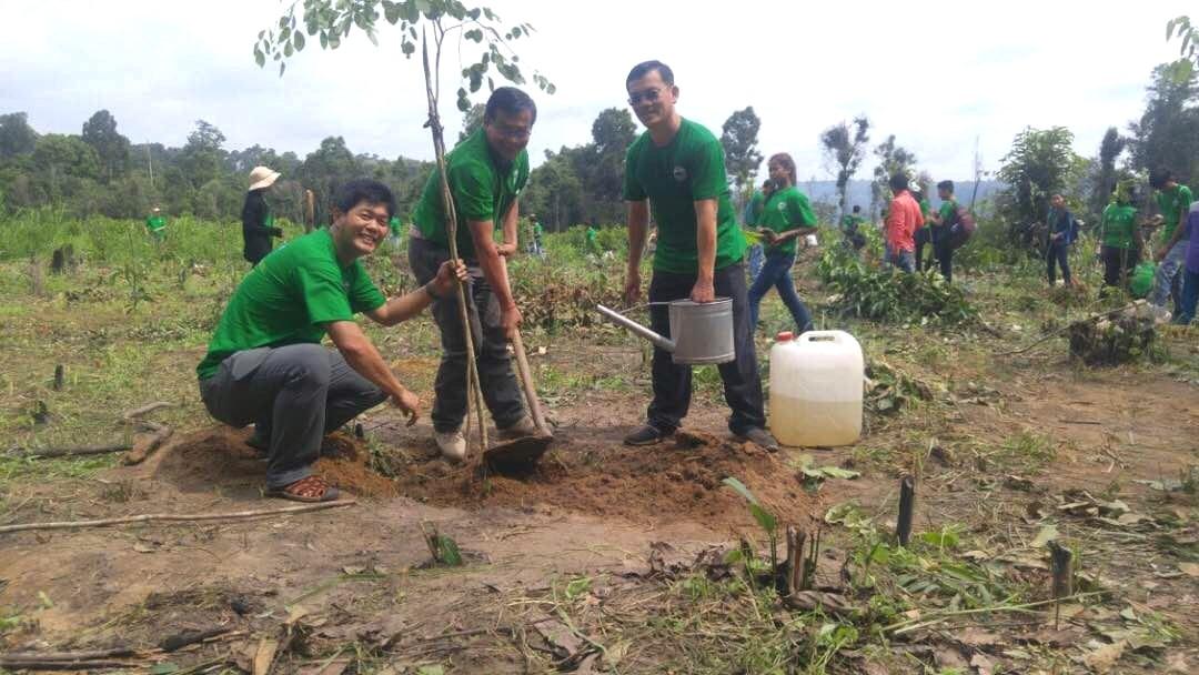 Planting trees / UNEP Cambodia
