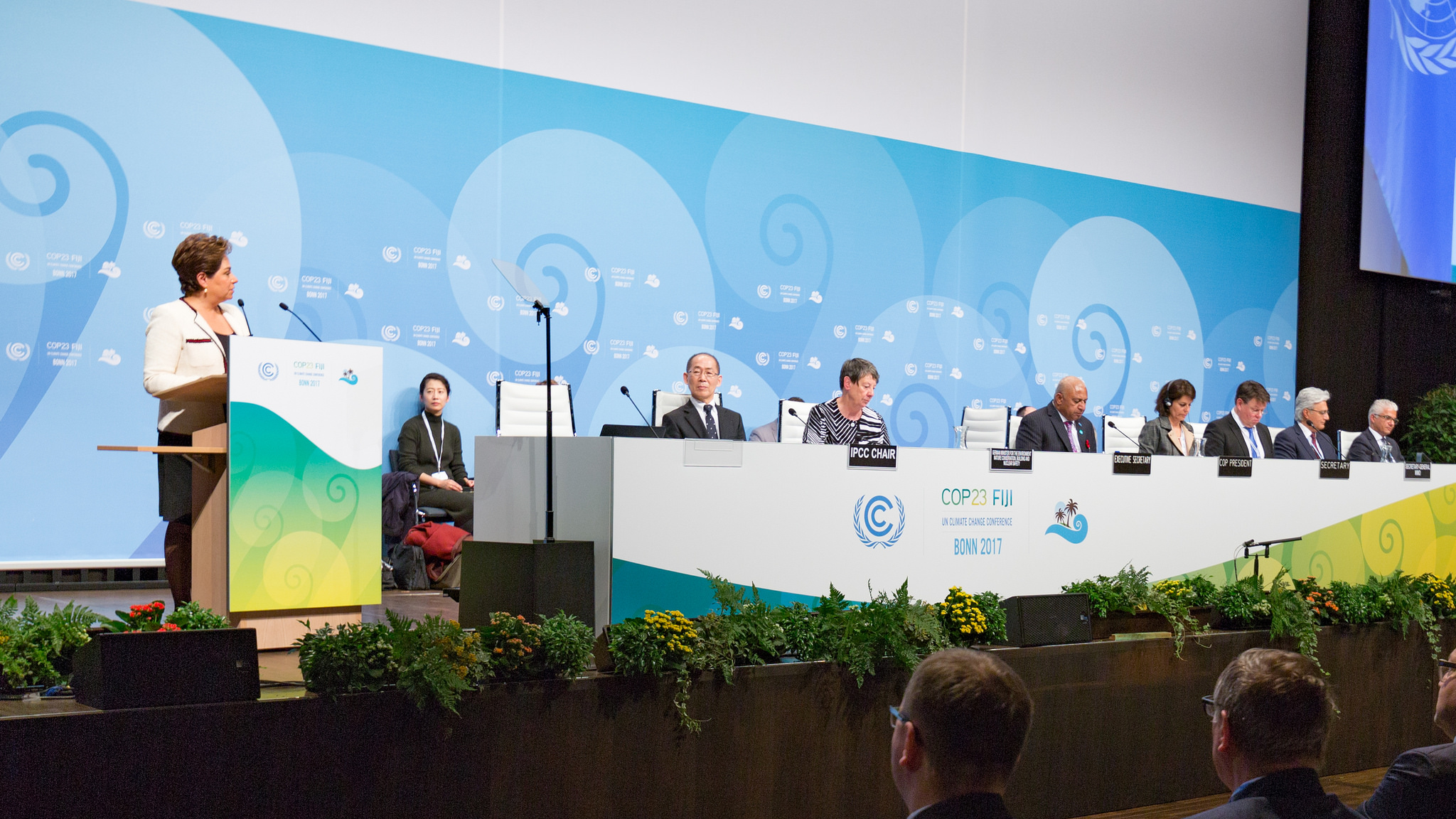 Welcoming Ceremony of the COP 23 conference. Photo: UNFCCC