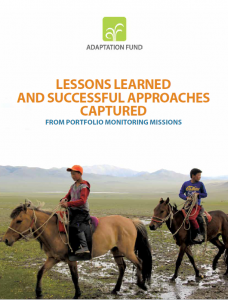 Adaptation Fund Releases New Publication to Share Lessons Learned and Best Practices from Project Sites